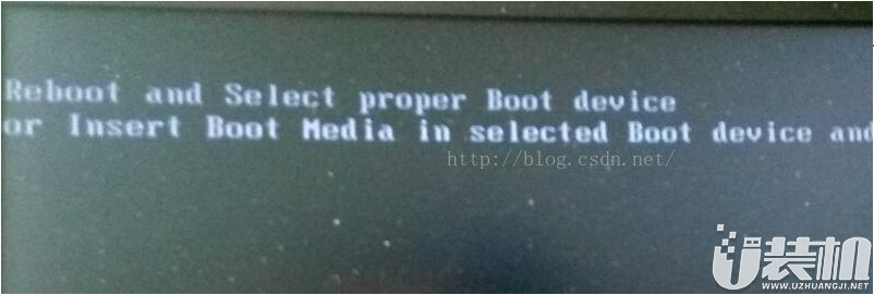华硕电脑出现reboot and select proper boot device解决办法