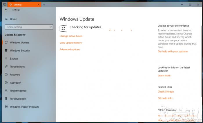 微软推送KB4134660/KB4134661更新,激活通知准备升级至Windows 10 April 2018更新