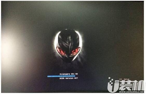 戴尔alienware 17笔记本如何进去BIOS设置U盘启动呢?