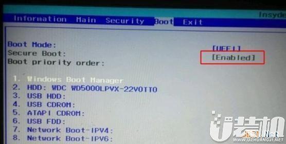 SecureBoot什么意思,BIOS下SecureBoot灰色怎么办