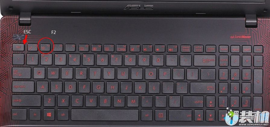 华硕笔记本进bios按哪个键 华硕手提电脑怎么进bios设置