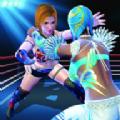 女子摔跤竞技比赛