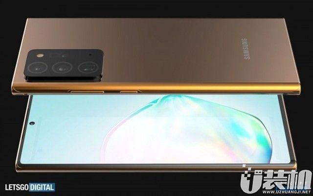 最新消息:三星Galaxy Note 20 Ultra高清渲染视频公布