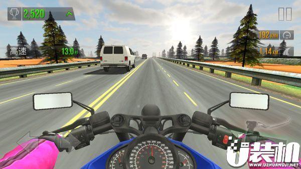 交通赛车破解版游戏真实场景