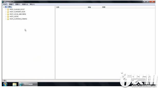 电脑如何打开注册表的视频教程