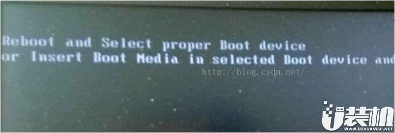 联想笔记本电脑出现reboot and select proper boot device解决方法