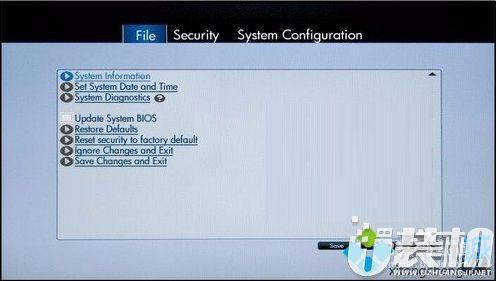 惠普笔记本如何进入EFI BIOS关闭内置麦克风1